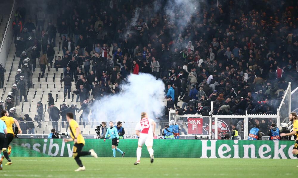 ΑΕΚ: Σε ακρόαση από την UEFA για τα επεισόδια με Άγιαξ