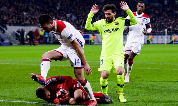 Λιόν – Μπαρτσελόνα 0-0: Πρόκριση στη Βαρκελώνη!