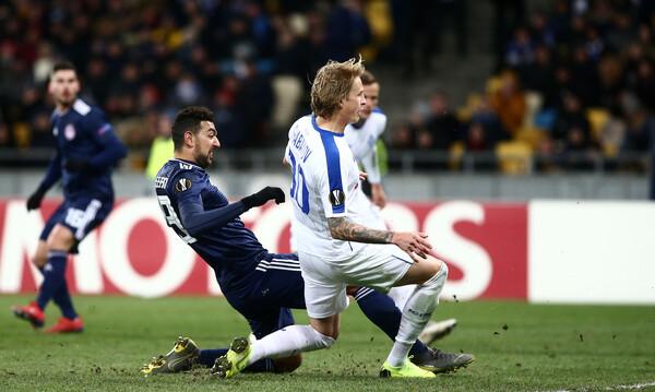Ντιναμό Κιέβου-Ολυμπιακός 1-0: «Πάγωσε» στο Κίεβο κι αποκλείστηκε (photos)