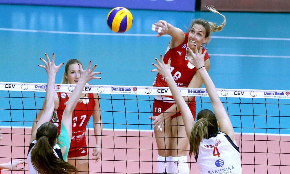 Volley League Γυναικών: Εύκολες νίκες για Ολυμπιακό και Πανναξιακό