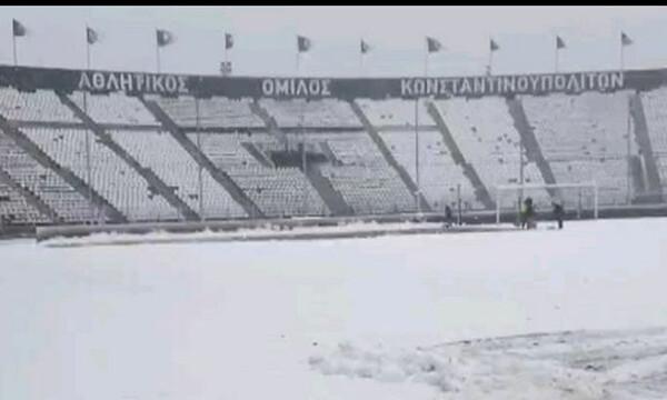 ΠΑΟΚ: Στα λευκά η Τούμπα (photo)