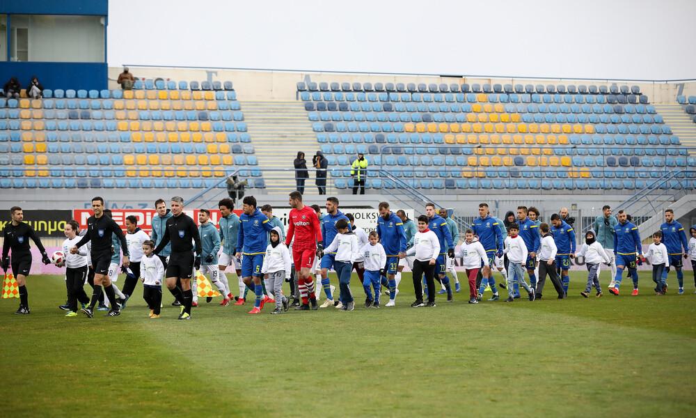 Αστέρας Τρίπολης-Ατρόμητος: Οι οπαδοί δεν ξέχασαν τον Ρεξ (photo)