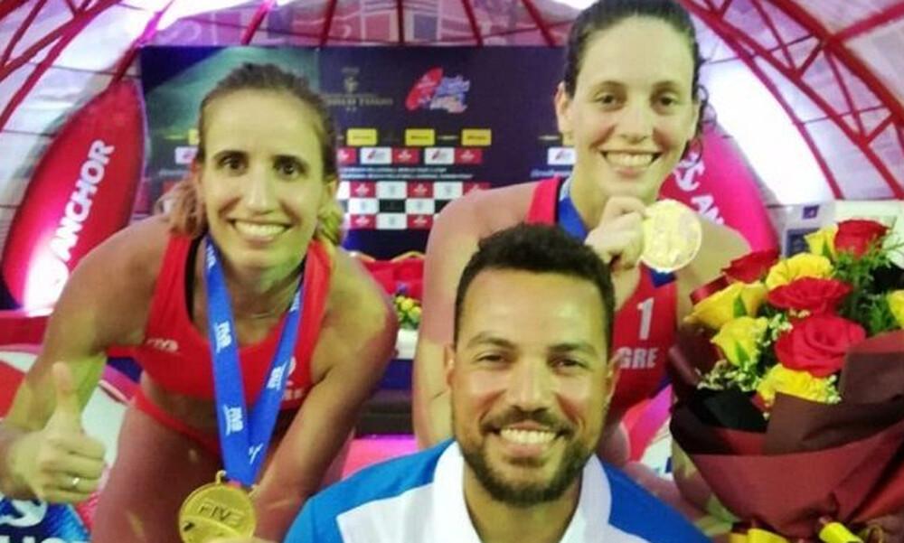 Χρυσό μετάλλιο για Αρβανίτη-Καραγκούνη! (photo)
