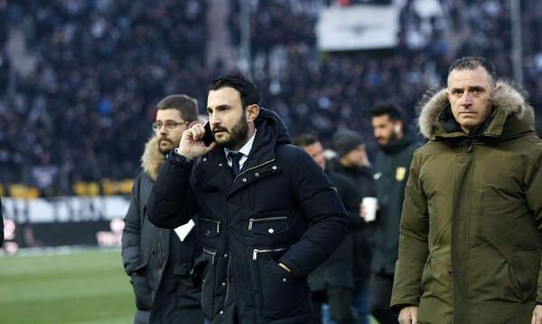 ΠΑΟΚ-Άρης: Ο Καρυπίδης «ντόπαρε» τους παίκτες μέσα στην Τούμπα!  (photos)