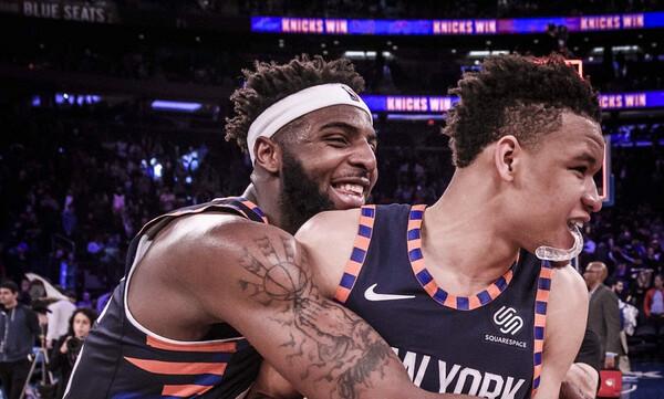NBA: Σπουδαία νίκη για τους Νικς (video)