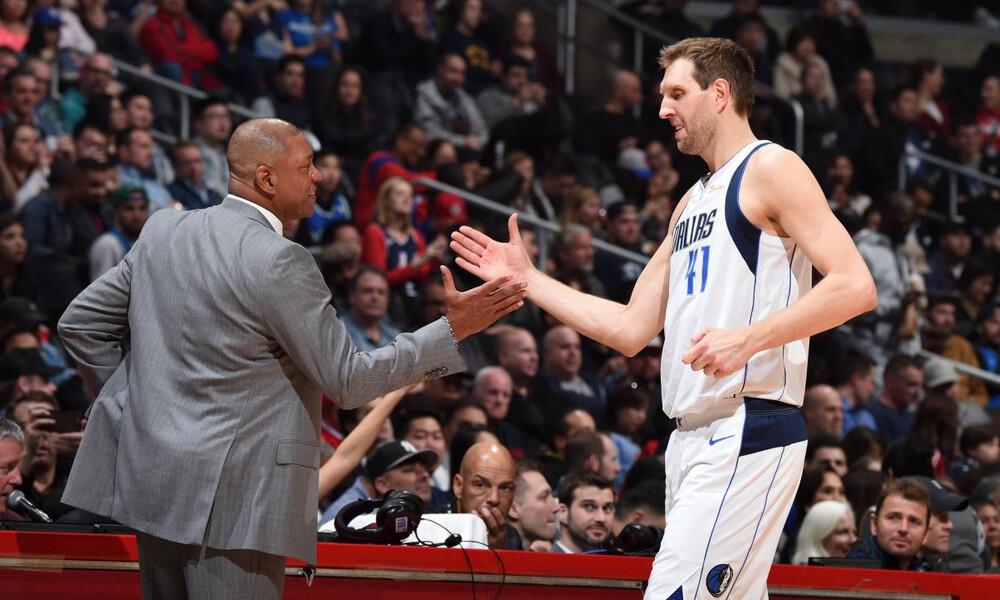 NBA: Αποθέωση για Νοβίτσκι στο Λος Άντζελες (video+photos)