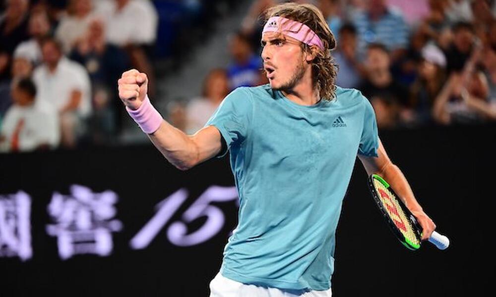 Ο Τσιτσιπάς στο «Tennis with the stars»