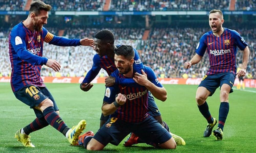 «Πάρτι» με Σουάρες στη Μαδρίτη, 3-0 τη Ρεάλ η Μπαρτσελόνα! (video)