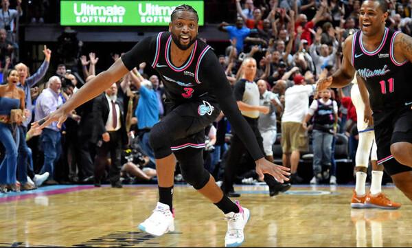 NBA: Ο απίθανος Ουέιντ στην κορυφή του Top-10! (video+photos)