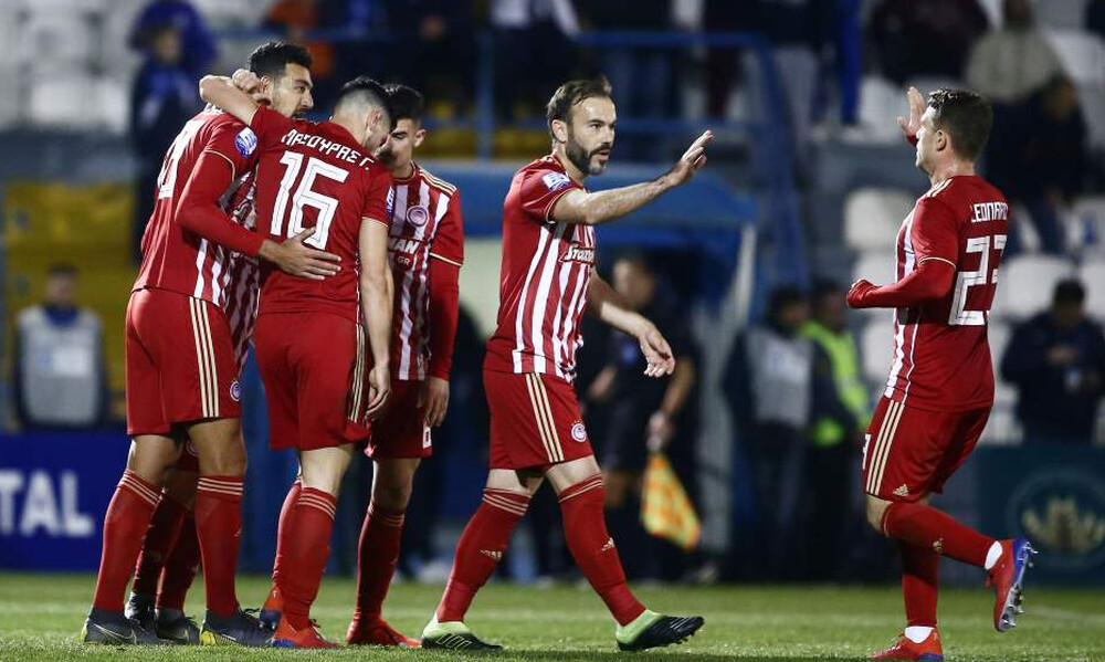 Απόλλων Σμύρνης-Ολυμπιακός 0-2: Πέρασε από τη Ριζούπολη, έχασε τα... άχαστα! (photos&videos)