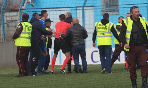 Παράγοντας και οπαδοί «έσπασαν» στο ξύλο διαιτητή στην Αλβανία (photos+video)