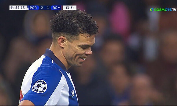 Champions League: Γελάει ο κόσμος με τον Ντζέκο που έπεσε από τη… ματιά του Πέπε! (video)