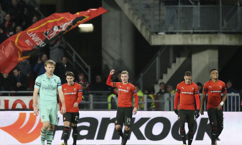 Europa League: Την έκπληξη η Ρεν, αποβλήθηκε ο Παπασταθόπουλος (videos)