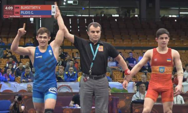 Στον τελικό του Ευρωπαϊκού πρωταθλήματος πάλης U23 o Πιλίδης