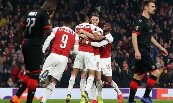 Europa League: Επικές προκρίσεις για Άρσεναλ, Άιντραχτ (videos)