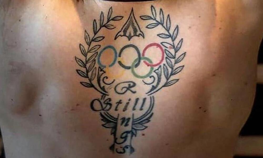 Αυτό το τατουάζ ανήκει σε Έλληνα σούπερ σταρ του αθλητισμού (photos)