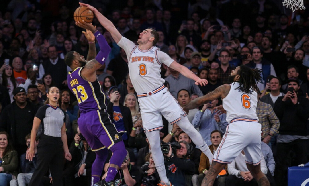NBA: Top-10 με εκπληκτικό Χεζόνια (video)