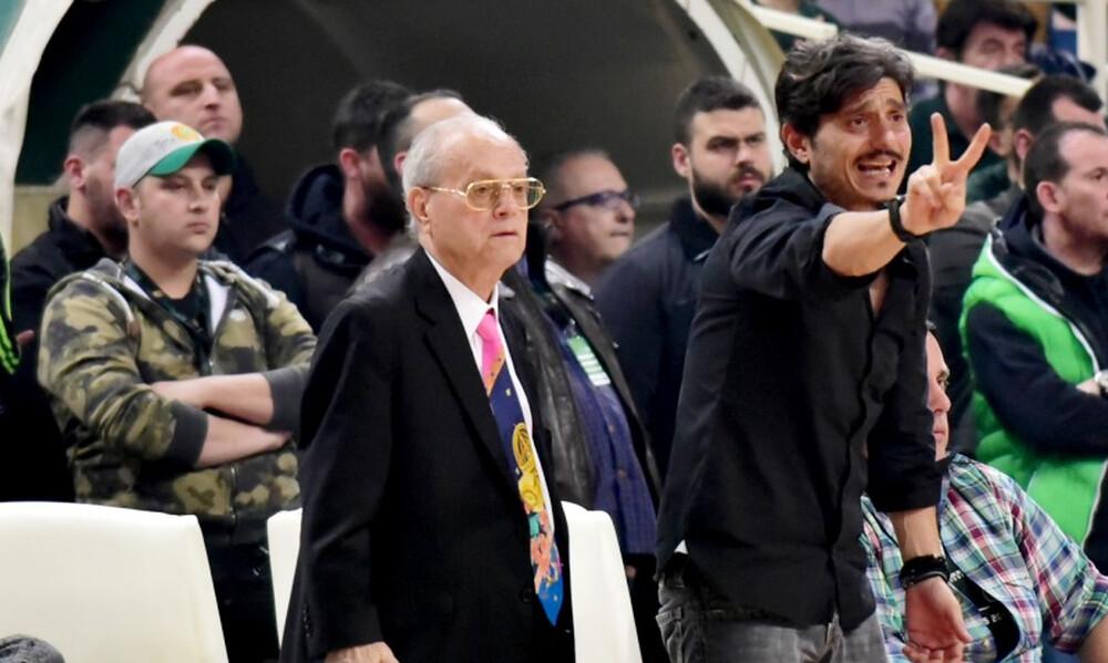 Το αντίο του Δημήτρη Γιαννακόπουλου στον Θανάση Γιαννακόπουλο (photos)