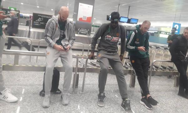 Παναθηναϊκός ΟΠΑΠ: Έφτασε στο Μιλάνο (video)