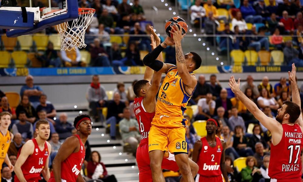 Η βαθμολογία στην Euroleague, εκτός 8άδας ο Ολυμπιακός (photo)