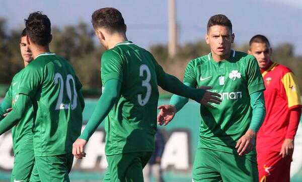 Παναθηναϊκός: Εύκολη νίκη κόντρα στην U21 του Μαυροβουνίου (photos)