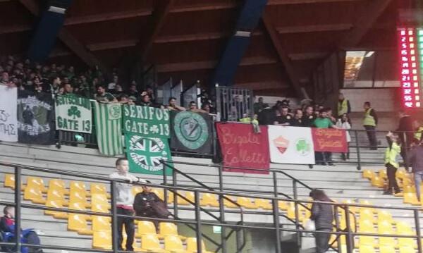 Αρμάνι Μιλάνο – Παναθηναϊκός ΟΠΑΠ: Δίπλα του και οι οπαδοί της Ρόμα! (photos)