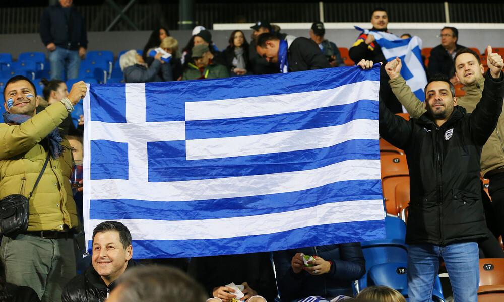 Λίχτενσταϊν-Ελλάδα: Δυναμική ελληνική παρουσία στις εξέδρες (photos)