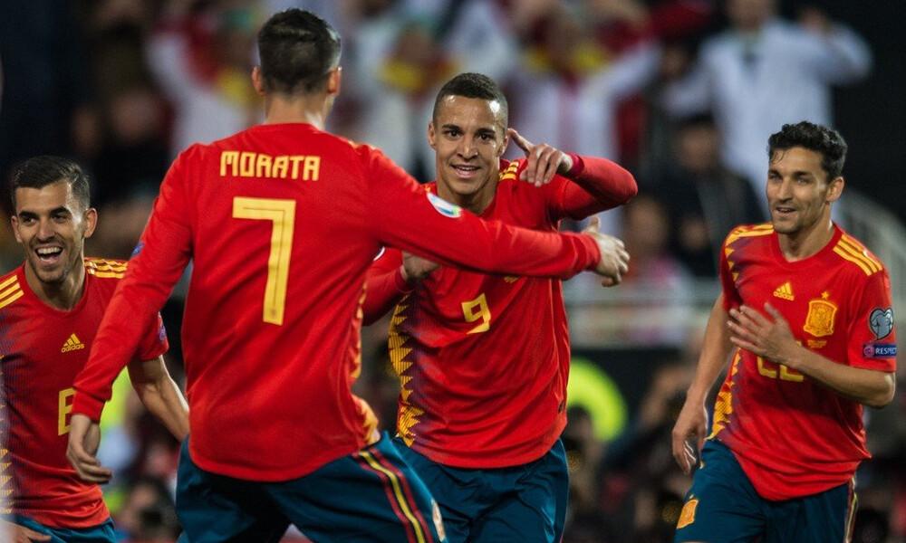 Προκριματικά Euro 2020: Δύσκολη νίκη για Ισπανία (videos)