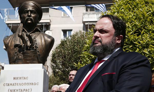 Μαρινάκης: «Ο εθνικοαπελευθερωτικός αγώνας υπήρξε μάθημα αυταπάρνησης και γενναιότητας»