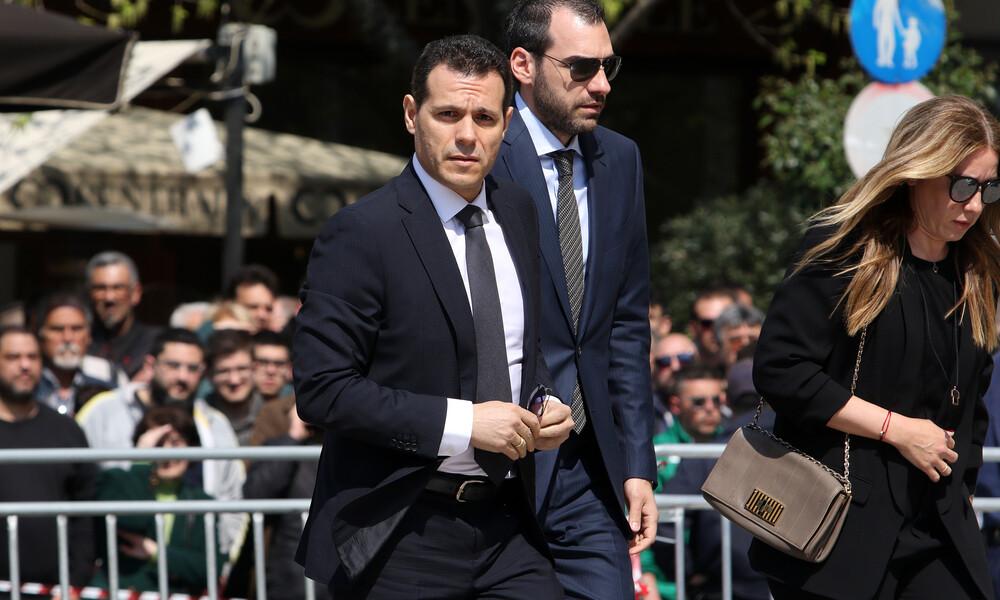 Ο Δημήτρης Ιτούδης αποχαιρέτησε τον Θανάση Γιαννακόπουλο (video)