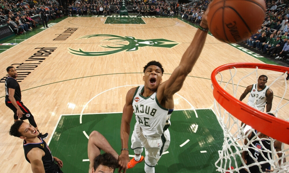 NBA: Με μπόλικο Γιάννη το σημερινό Top-10 (video+photos)