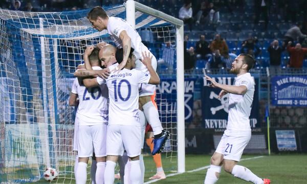 Λαμία-Πανιώνιος 1-0: Ξεμπέρδεψε η Λαμία (photos+video)
