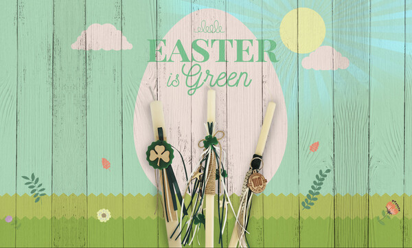 PAO Shop: Easter is… Green!