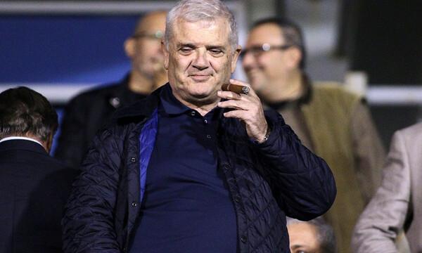 Στα αποδυτήρια ο Μελισσανίδης: «Δε θα με χάλαγε να έπαιρνε το Κύπελλο επαρχιακή ομάδα»