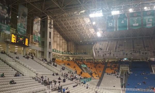 Παναθηναϊκός ΟΠΑΠ: Γεμίζει το ΟΑΚΑ για τον «τελικό» με Μπούντουτσνοστ (photos)