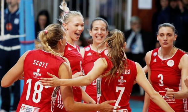 Στον τελικό ο Ολυμπιακός, 3-0 την ΑΕΚ (photos)