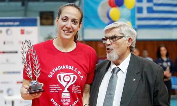 «Το Κύπελλο του Ολυμπιακού, αφιερωμένο στη Γιώτα»