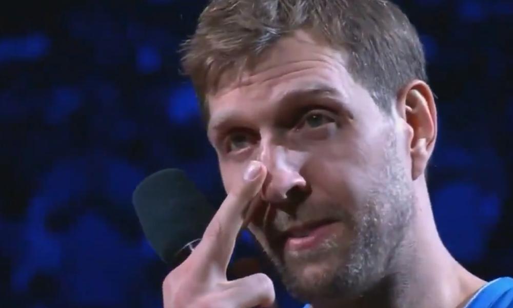 NBA: Το συγκινητικό «αντίο» του Νοβίτσκι (photos+video)
