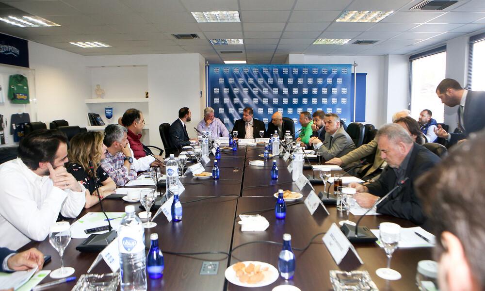 Super League: ΔΣ για αναδιάρθρωση και πρόεδρο