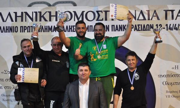 Πρωταθλητής Ελλάδας στους Παμπαίδες ο Αρχέλαος Κατερίνης στην ελληνορωμαϊκή πάλη