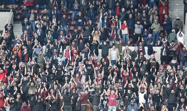 ΑΕΛ-ΠΑΟΚ: Ένταση με οπαδούς του ΠΑΟΚ που μπούκαραν στο «AEL FC Arena»!