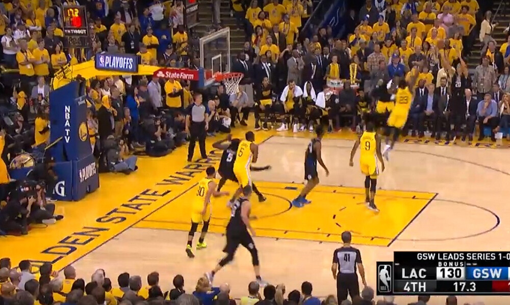 NBA: Η «μαχαιριά» των Κλίπερς στο Top-5 (video)
