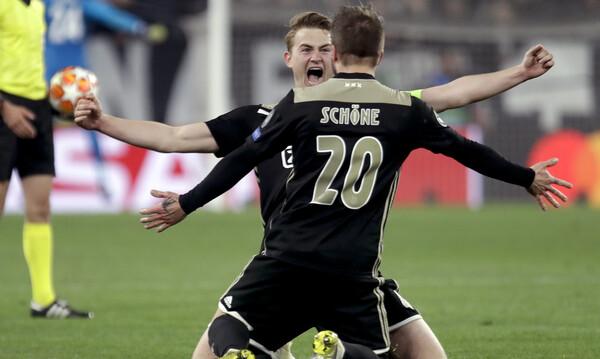 Champions League: Ο Άγιαξ των ρεκόρ προελαύνει (photo)