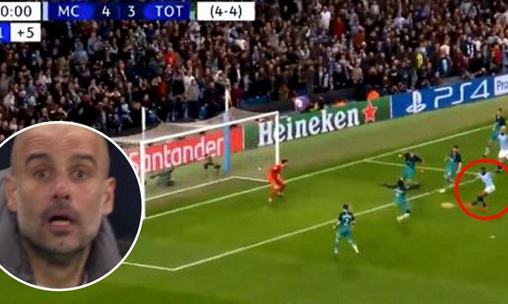 Champions League: Το γκολ που δεν μέτρησε και άφησε εκτός την Σίτι! (video)