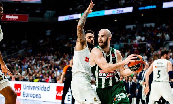 Ρεάλ Μαδρίτης – Παναθηναϊκός ΟΠΑΠ LIVE: Η δεύτερη «μάχη» των playoffs της Euroleague
