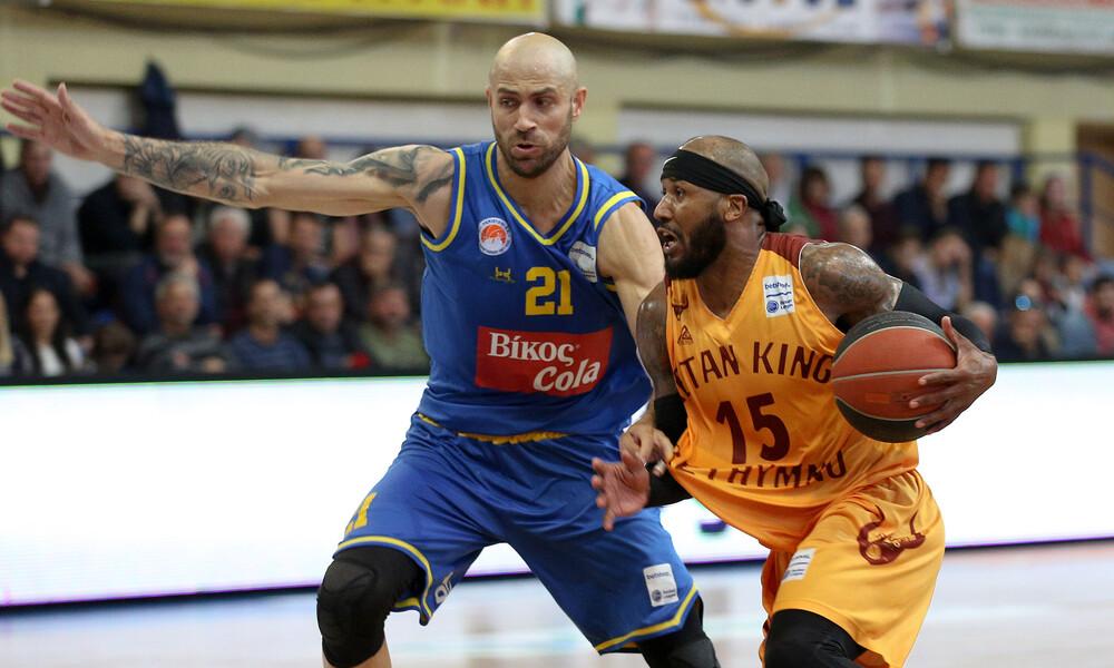 Ρέθυμνο-Περιστέρι 83-73: Ο Μπαρτ τον κρατάει στη Basket League