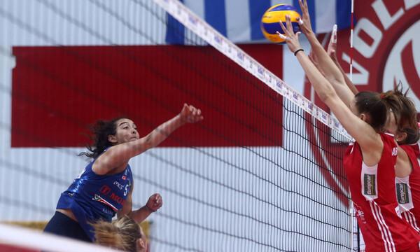 Α1 βόλεϊ γυναικών: Νίκη ο Ολυμπιακός στον πρώτο τελικό