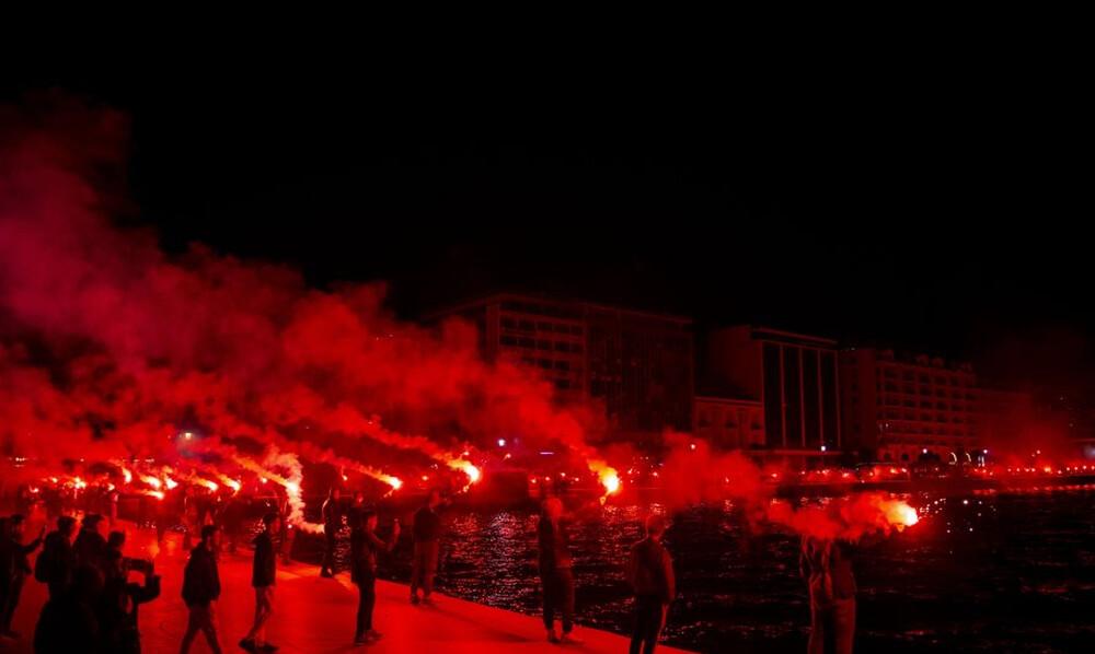 Το Δημαρχείο Θεσσαλονίκης είναι... ΠΑΟΚ! (photos)