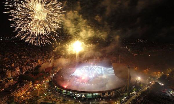 Φιέστα ΠΑΟΚ: «Κάηκε» η Τούμπα για το… πρωτάθλημα της ζωής τους! (videos+photos)