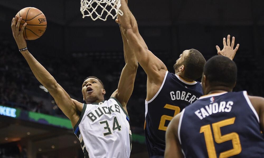 NBA: Αποθεώνει Αντετοκούνμπο ο Γκομπέρ (video+photos)